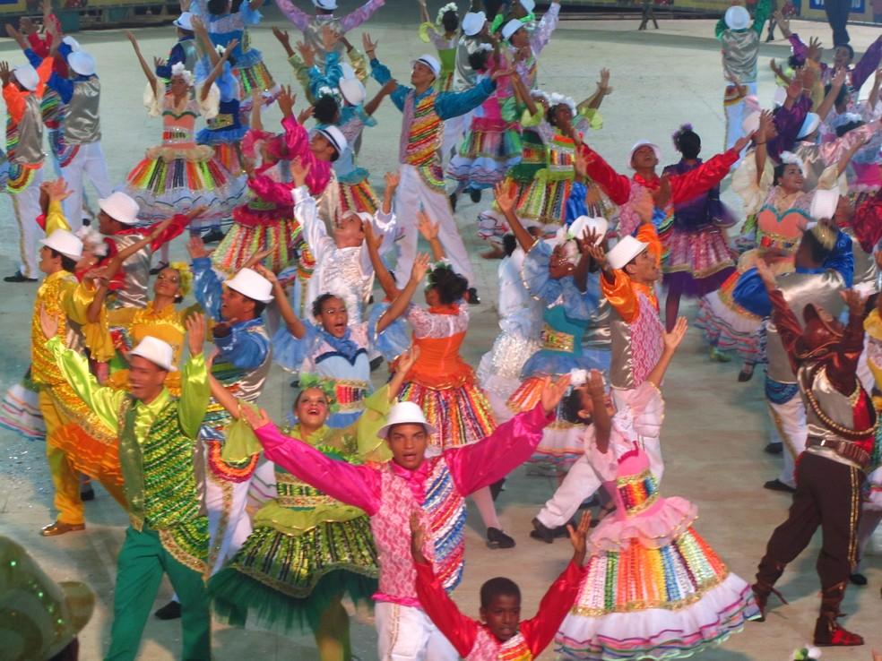 Eliminatórias são realizadas no Sec Goiana, no Grande Recife (Foto: Reprodução/TV Globo)