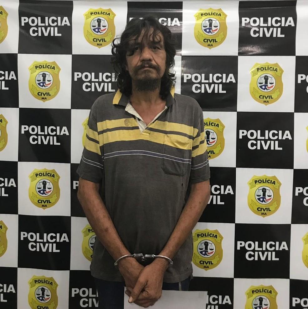 Segundo a polícia, Hilton Alves Bonfim já foi condenado por vários crimes de homicídio na região de Imperatriz — Foto: Divulgação/Polícia Civil