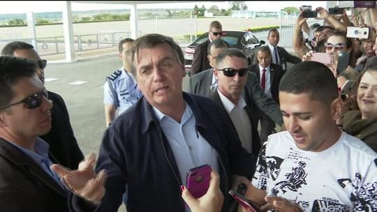 'Tem algum nordestino ofendido?', questiona Bolsonaro a apoiadores em Brasília