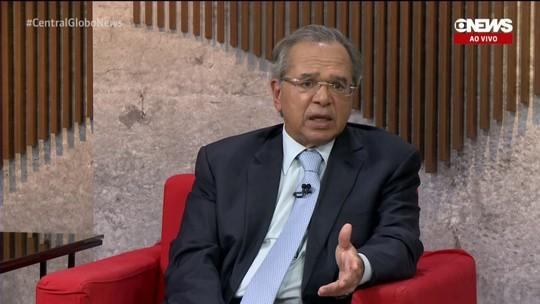 Paulo Guedes diz que Bolsonaro não teve a intenção de interferir nos preços da Petrobras
