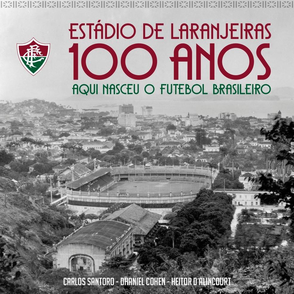 Capa vencedora da enquete dos 100 anos de Laranjeiras — Foto: Divulgação