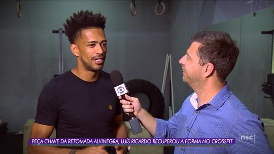 VÍDEO: Luis Ricardo manteve forma no crossfit antes de fechar com o Figueira