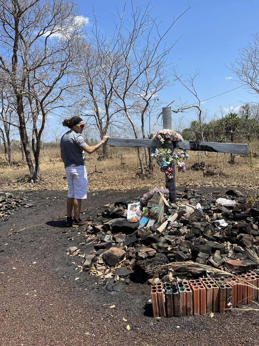 Whindersson Nunes visitou área onde ocorreu a Batalha do Jenipapo, em Campo Maior, no Piauí — Foto: Divulgação