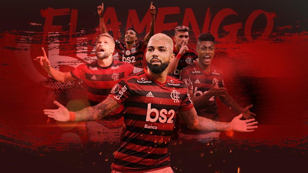Em Ano De Recorde De Gols Selecionamos 20 Pinturas Do Flamengo Em 2019 Escolha Flamengo Ge