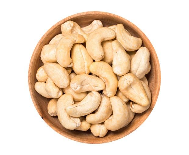 Castanha-de-caju (100 g tem 6 mg) (Foto:  )