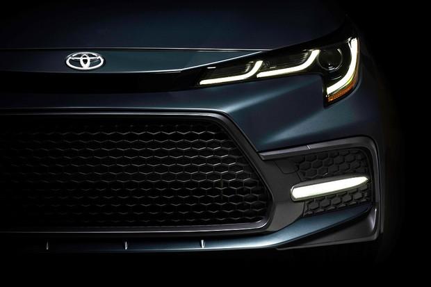 Toyota Corolla sedã 2020 (Foto: divulgação)