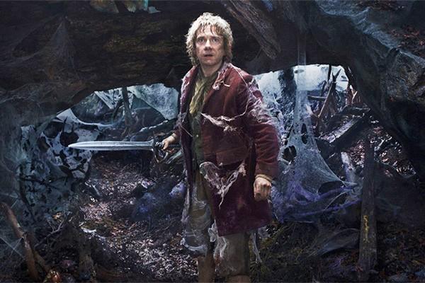 Martin Freeman como Bilbo em um dos filmes da trilogia O Hobbit (Foto: Divulgação)