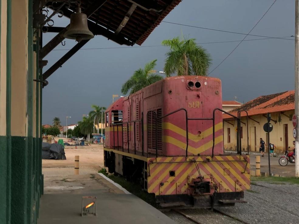 Em Cedro, no Centro Sul do Ceará, choveu 50 milímetros — Foto: Maciel Bezerra