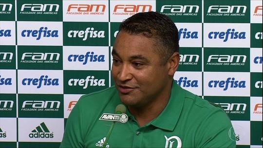 Torcida do Palmeiras compara apresentações de Roger e Cuca nas redes