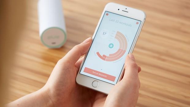 Gadget ajuda mulheres a prevenir incontinência urinária (Foto: Divulgação)