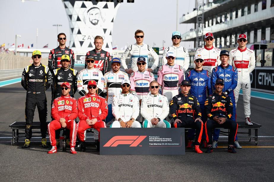 Confira o grid completo da Fórmula 1 para a temporada 2019