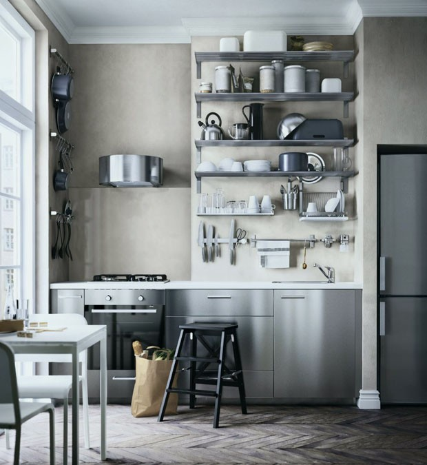 meuble de cuisine lapeyre Génial Credence Ikea Cuisine Affordable Simple Interesting Best Cuisine (Foto: Reprodução/Divulgação)