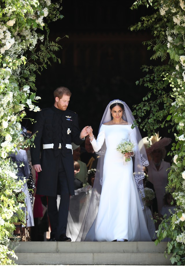 Fotos de vestidos de noiva: Meghan Markle (Foto: Getty Images)