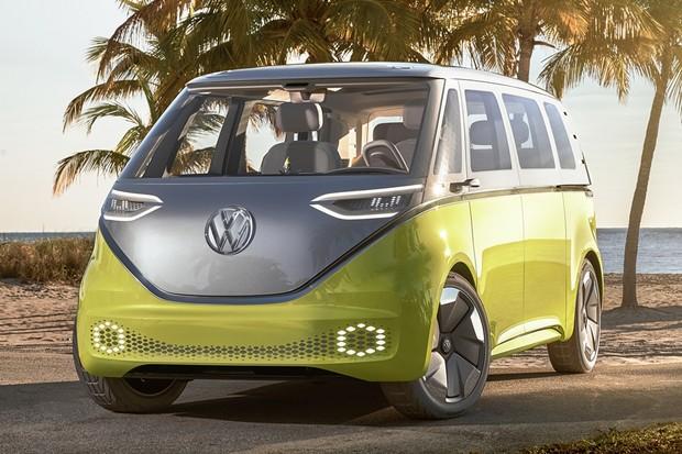 Volkswagen I.D. Buzz Kombi Elétrica (Foto: Divulgação)