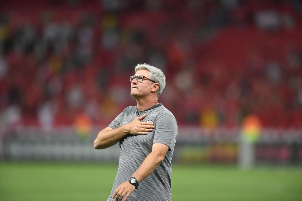 Odair Hellmann estará à frente do Inter pelo segundo ano — Foto: Ricardo Duarte / Inter, DVG
