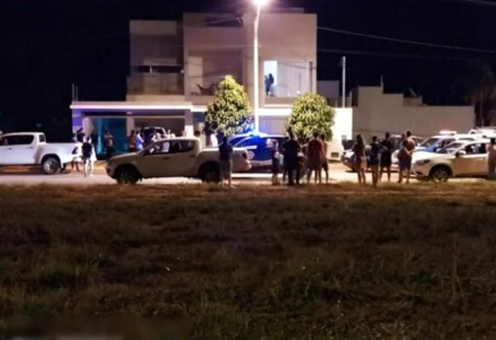 Empresário foi atacado quando chegava em casa — Foto: Reprodução/TV Bahia