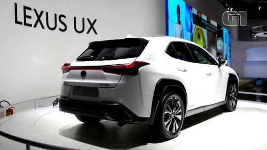Salão de SP 2018: Lexus anuncia linha totalmente híbrida e revela novos ES e UX