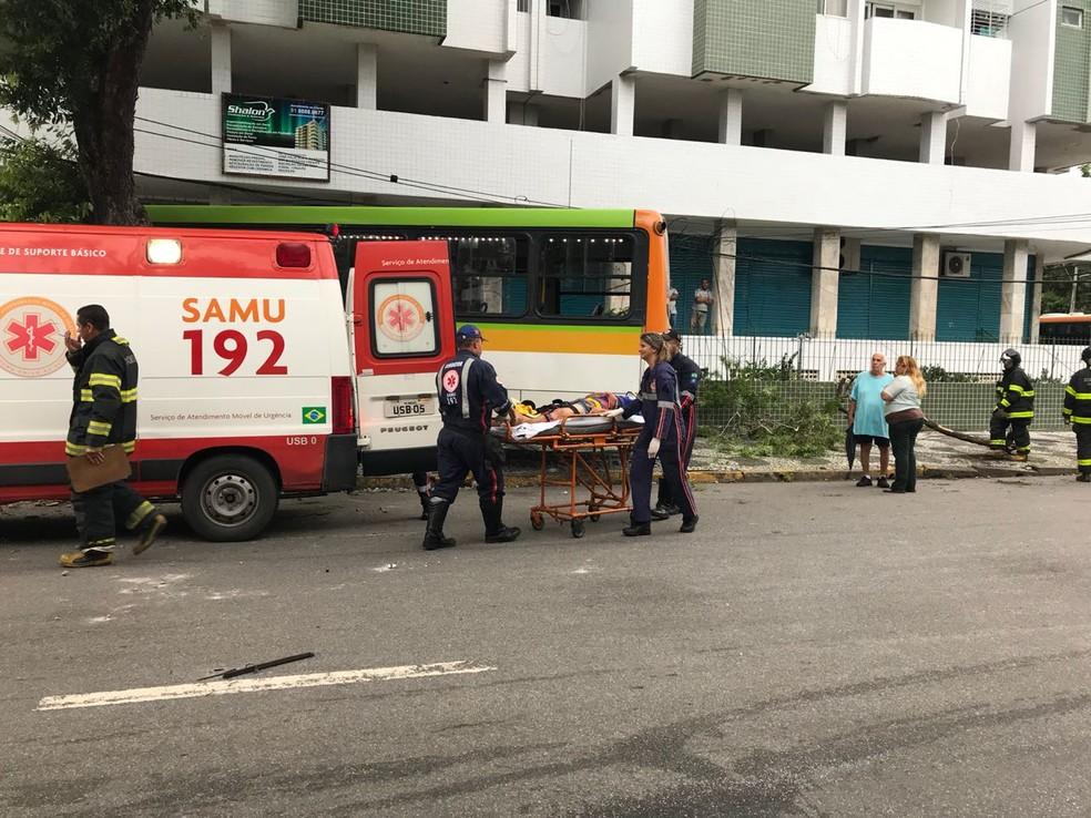 Parte dos profissionais contratados após a seleção vai atuar no Samu (Foto: Danilo Cesar/TV Globo)