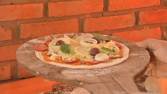 Que tal uma pizza com a massa fininha?