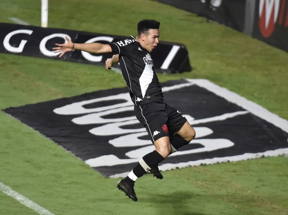 Marquinhos Gabriel tem 7 gols pelo Vasco — Foto: André Durão