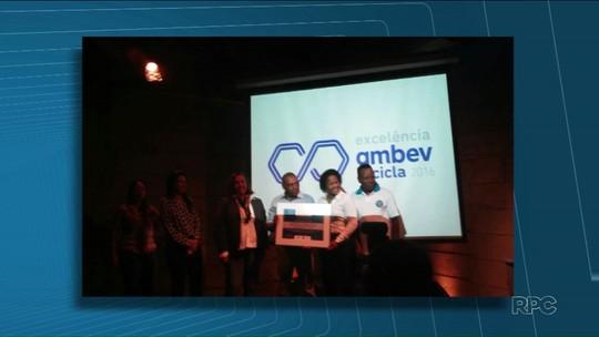 Cooper Região recebe prêmio como uma das melhores cooperativas de reciclagem do Brasil