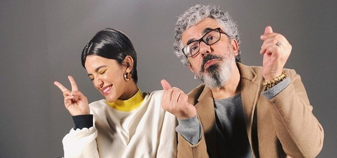 Manu Gavassi e o Pai, Zé Luiz  (Foto: Reprodução)