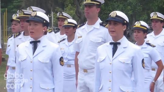 Em sintonia com ordens e cânticos, dueto de 2016 ingressa na Marinha