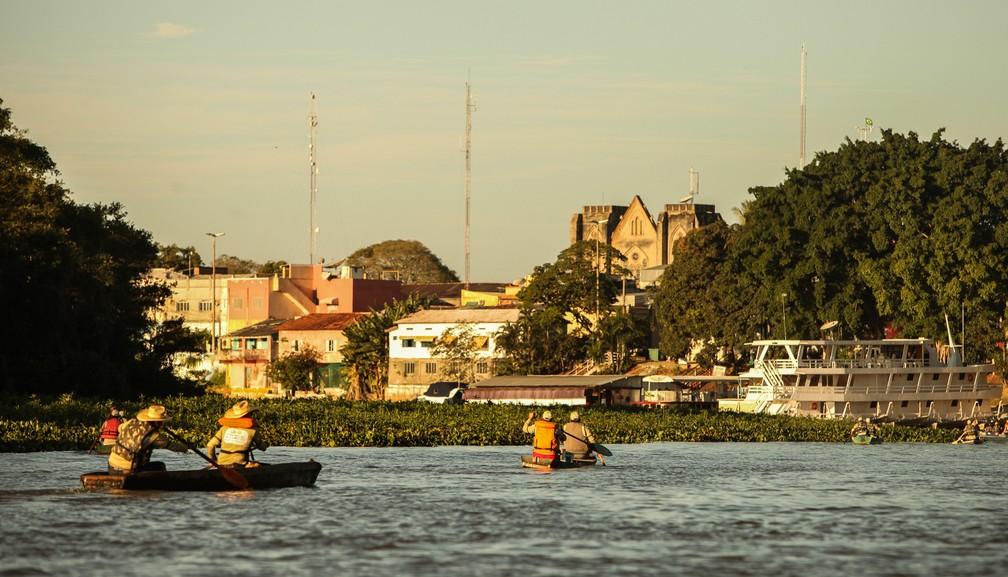 Turismo de pesca movimenta a economia local — Foto: Fipe/ Divulgação