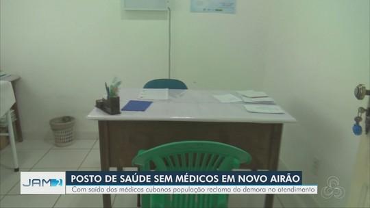 Posto de saúde no AM fica sem atendimento após saída de cubanos do Mais Médicos
