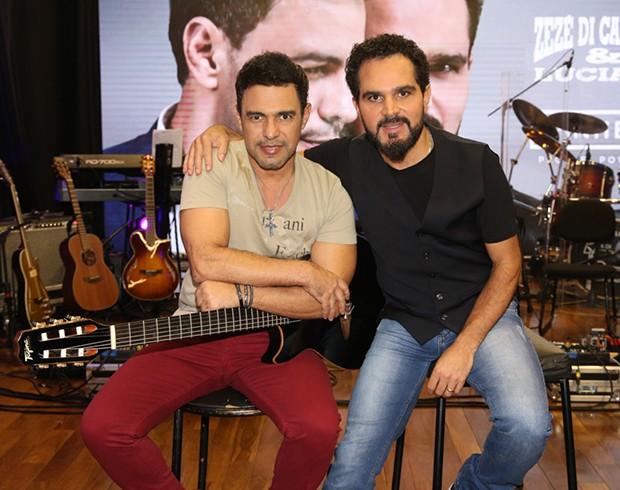 Zezé Di Camargo e Luciano (Foto: Agnews)