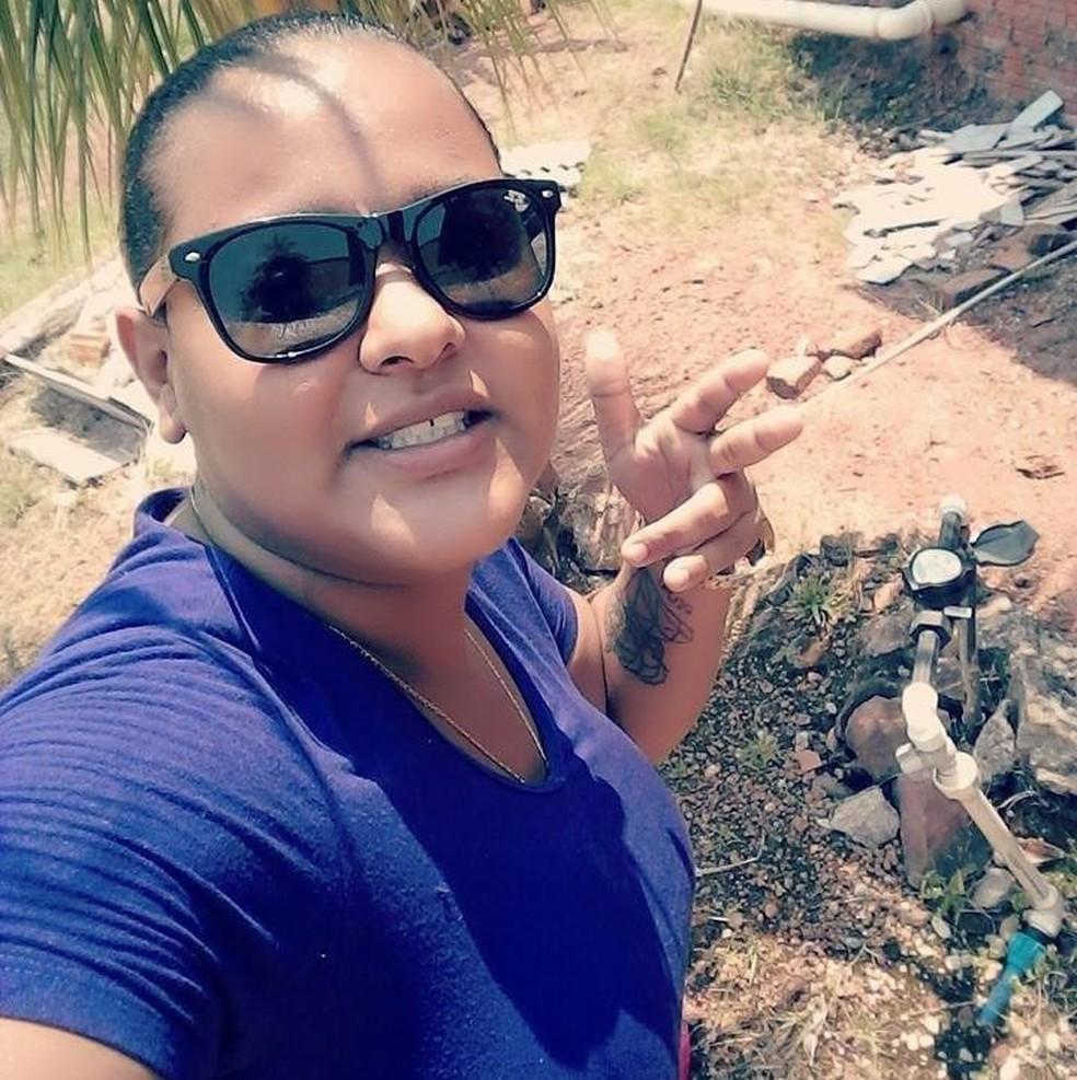 Geane Raquel de Brito foi morta em Peixoto de Azevedo — Foto: Facebook/Reprodução