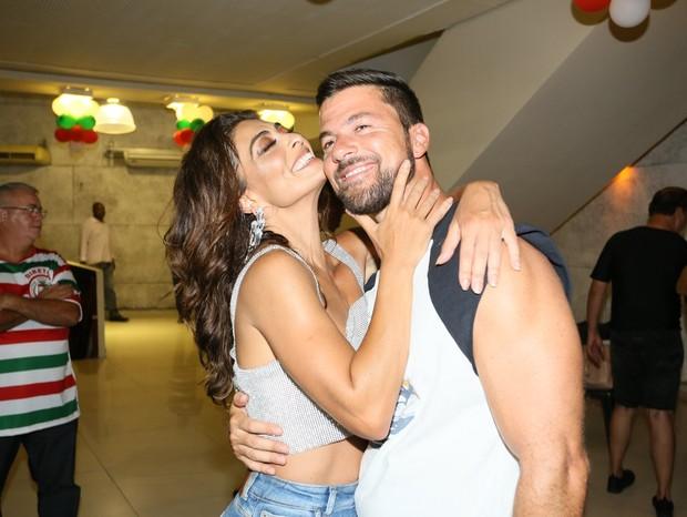 Juliana Paes e Carlos Eduardo Baptista (Foto: Rodrigo dos ANjos/AgNews)