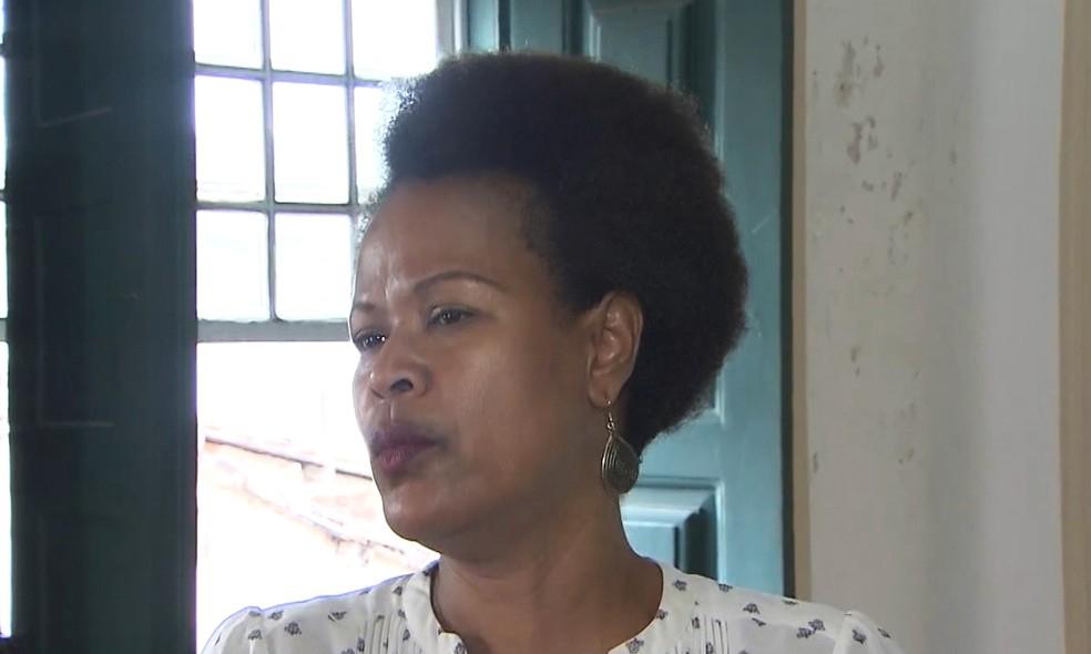 Professora denunciou aluno da UFRB por racismo — Foto: Reprodução/TV Bahia