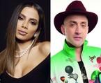 Anitta e Paulo Gustavo | Carolina Vianna e Fabio Bartelt