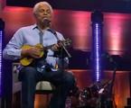 Paulinho da Viola em live no Globoplay | Reprodução