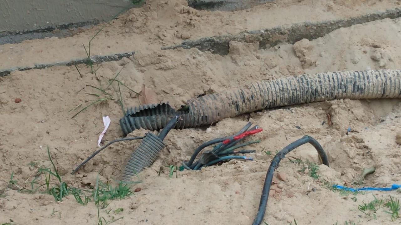Em três meses, Ponta Negra teve quase 600 metros de cabos de energia furtados