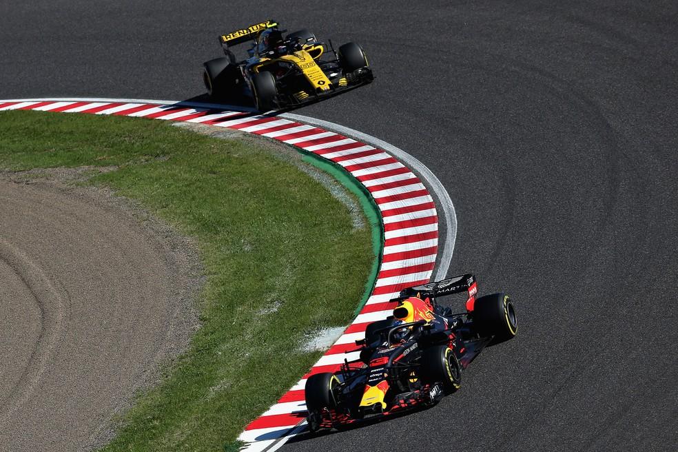 Diferença entre RBR e Renault foi de 297 pontos — Foto: Getty Images