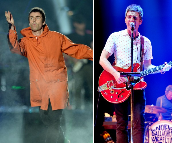 Liam Gallagher e Noel Gallagher (Foto: Getty Images)