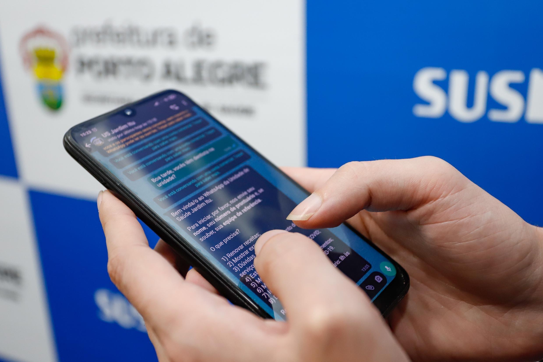 Unidades de saúde de Porto Alegre abrem canal de comunicação por aplicativos de mensagem