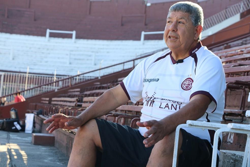 Ricardo conversou com a reportagem do Esporte Espetacular (Foto: Gustavo Serra)
