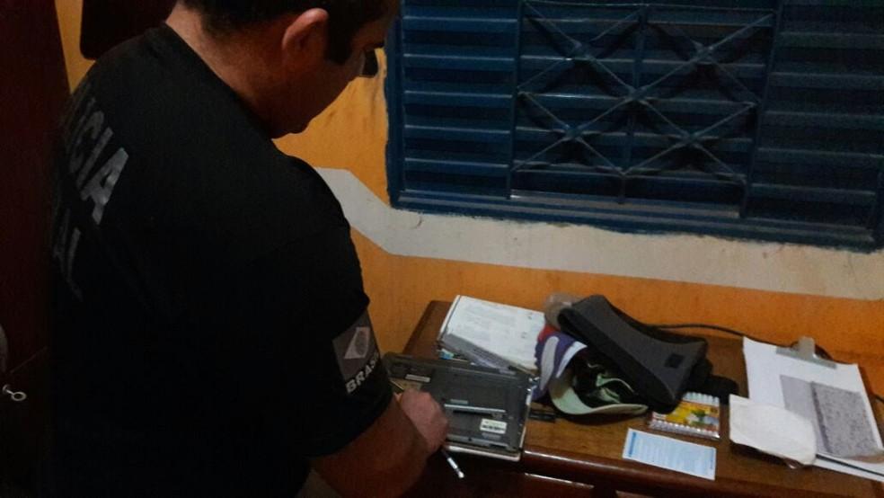 PF cumpriu mandados de busca e apreensão em Belém, Redenção e Santarém. (Foto: Divulgação/ Polícia Federal)