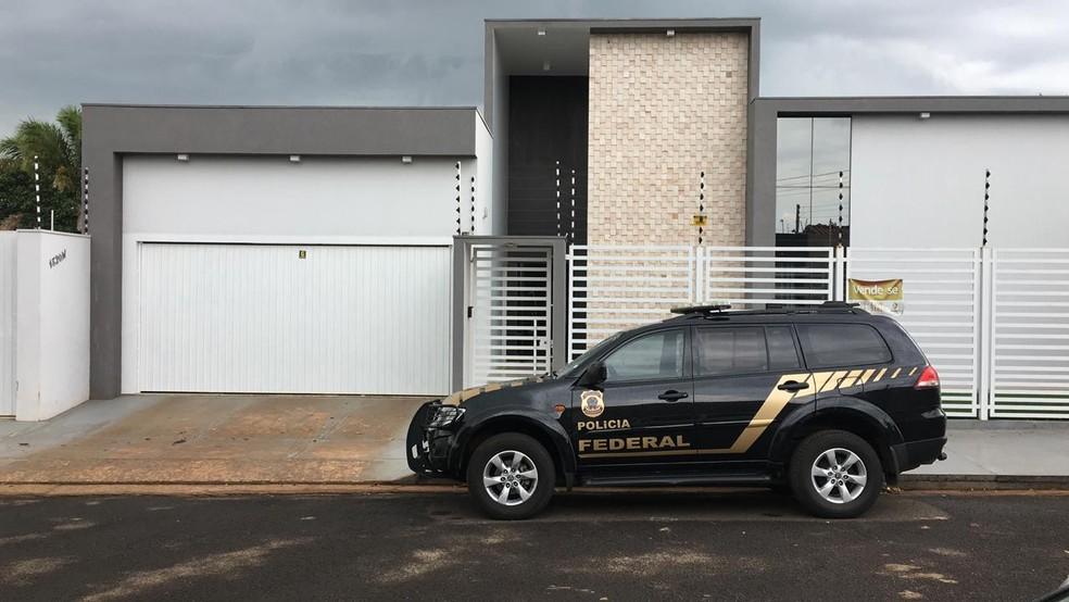 Operação Carcará cumpre mandados de prisão e busca em Tangará da Serra — Foto: José Pereira/TV Centro América