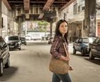 Adriana Esteves no cenário de 'Amor de mãe' | TV Globo