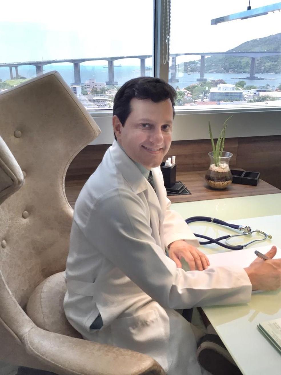 Endocrinologista e metabologista, Cláudio Ambrósio, criador do pâncreas biônico  — Foto: Cláudio Ambrósio/Arquivo Pessoal