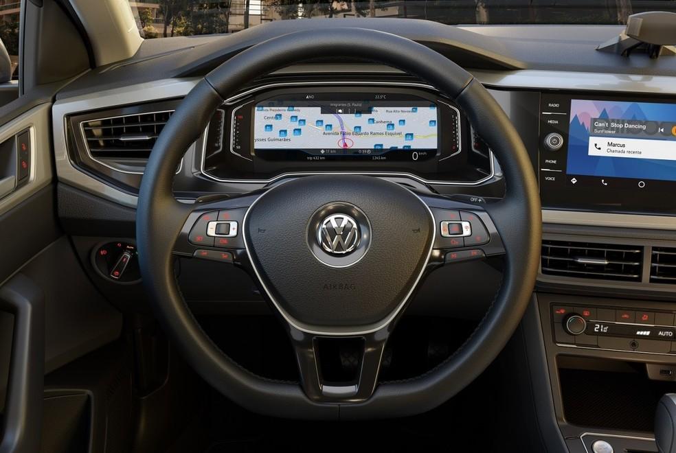 Active Info Display substitui o painel de instrumentos analógico por um digital de 10,25 polegadas (Foto: Divulgação)