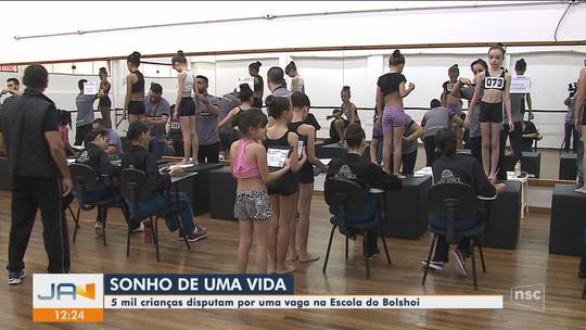 'Não dá pra gente desperdiçar nosso sonho', diz candidata ao Teatro Bolshoi em Joinville