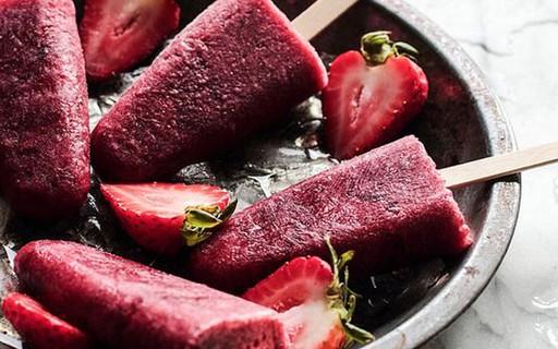 Nutricionista de beldades dá receitas de picolés leves e saudáveis
