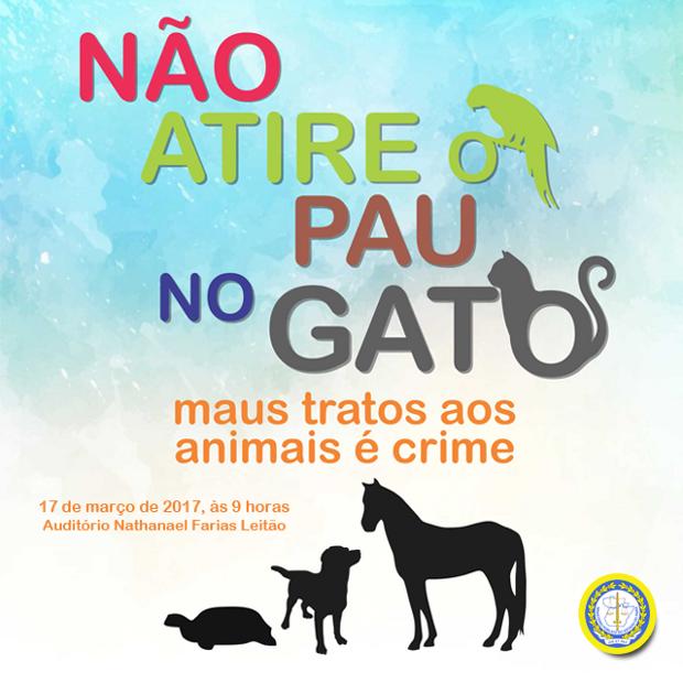 Campanha alerta sobre maus tratos contra animais (Foto: Divulgação / MPPA)