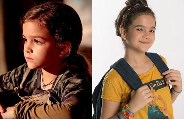 Em 2012, aos 8 anos, Mel Maia encantou o público como a Rita de 'Avenida Brasil'. Hoje, aos 13, ela está no elenco de 'A cara do pai' (Foto: TV Globo)