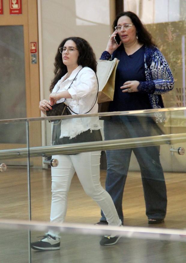 Lívian Aragão com a mãe, Lílian Taranto (Foto: J HUmberto/AgNews)